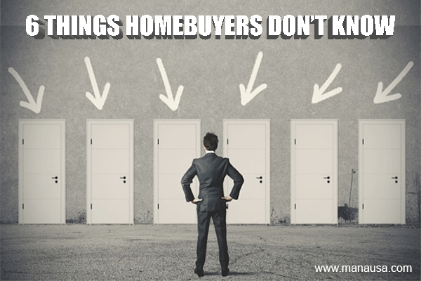 6 Things You Won't Know When You Buy A Home