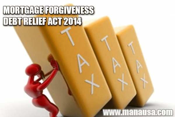 Mortgage Forgiveness Debt Relief Act Of 2014 and 2015