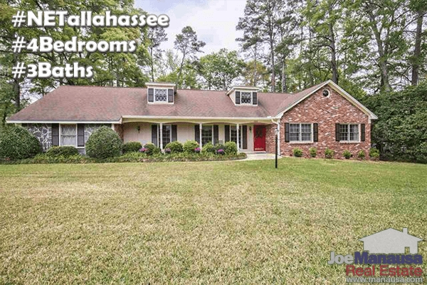 Where To Find A Four Bedroom, Three Bath Home In NE Tallahassee