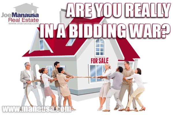 Hey Homebuyer, Are You Really In A Bidding War?