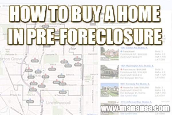 How To Buy A Home In Pre-Foreclosure