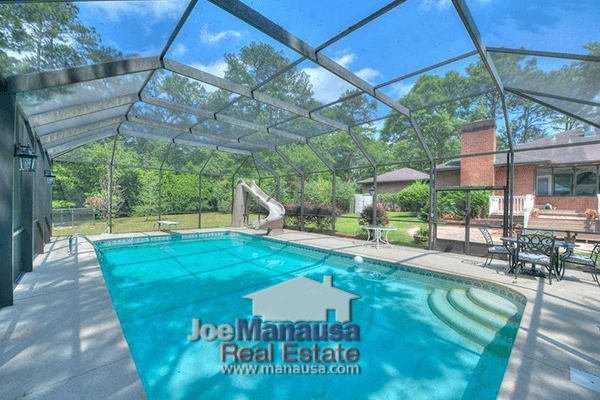 107 Tallahassee homes for sale with backyard pools