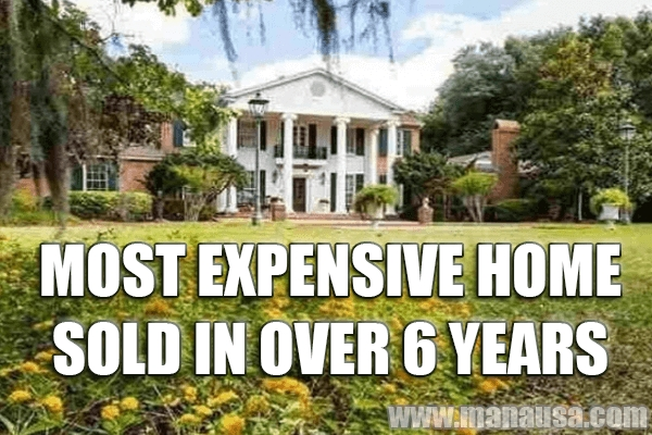 The Most Expensive Home Sold In Tallahassee