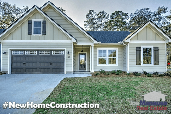 New Home Construction In Tallahassee Is Setting Records
