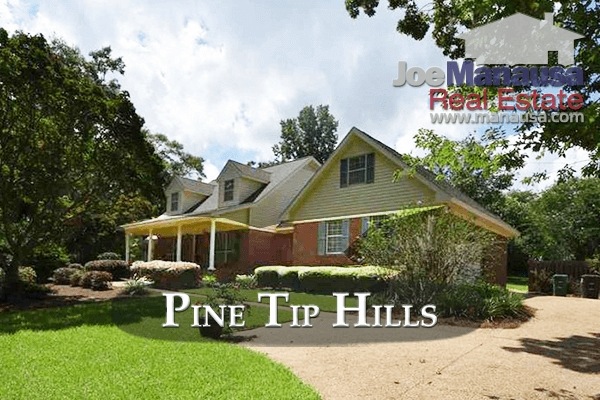 Pine Tip Hills Listings and Home Sales Report August 2017