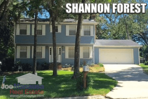 Shannon Forest Listings And Real Estate Sales Report September 2016
