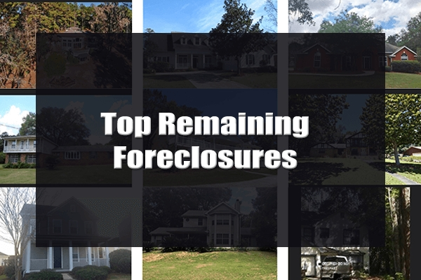Top 25 Tallahassee Foreclosure Listings