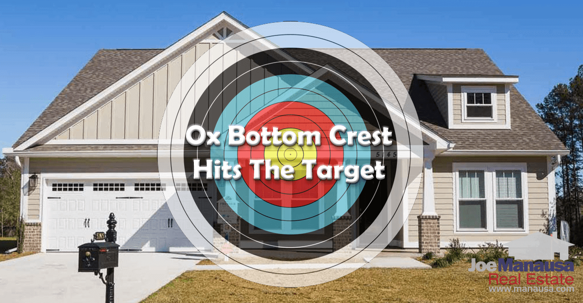 Homes For Sale In Ox Bottom Crest Have Hit The Target Price That Buyers Are Demanding