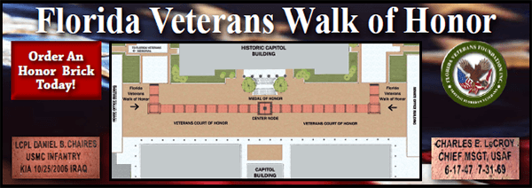 Florida Veterans Walk Of Honor