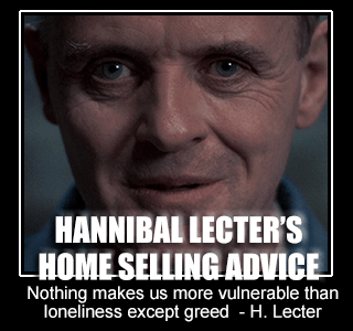 Hannibal Lecter's House Selling Advice