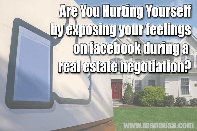 Real Estate on Facebook - Be careful what you share
