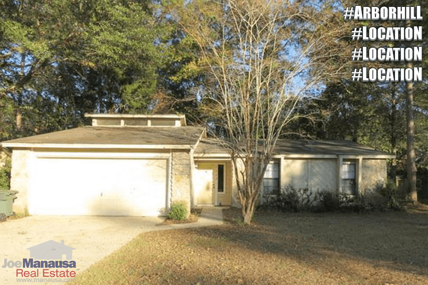 Houses For Sale In Arbor Hill Tallahassee Florida
