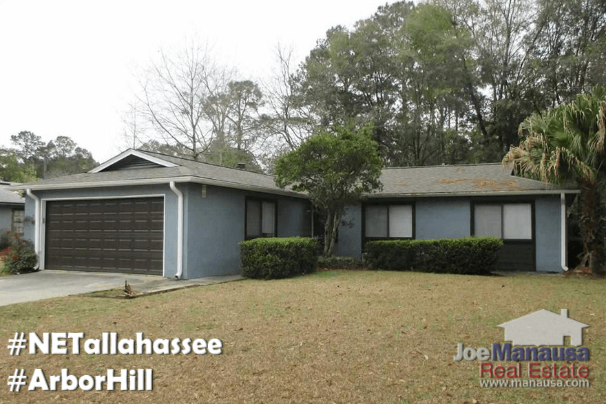 Arbor Hill Tallahassee Home Prices