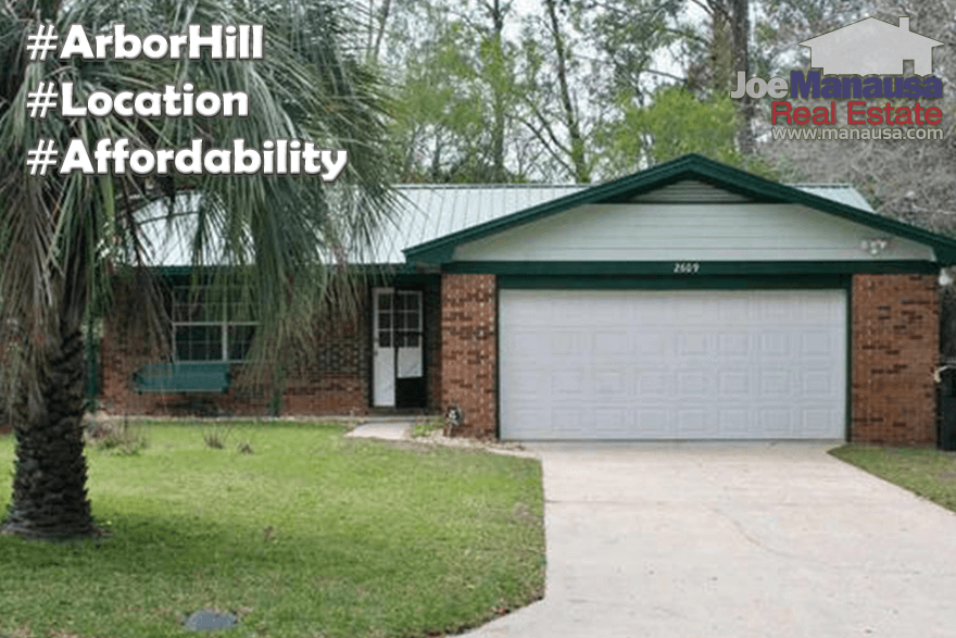 Homes For Sale In Arbor Hill Tallahassee, Florida