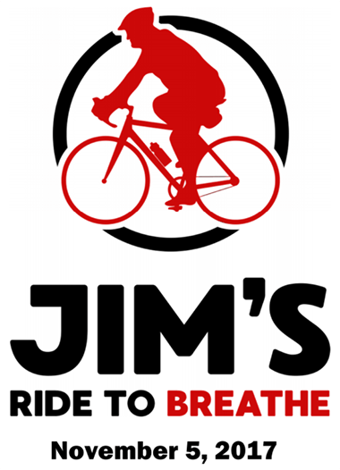 Jim's Ride To Breathe - November 5, 2017