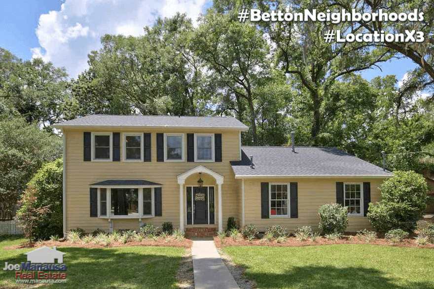 Homes For Sale In The Betton Area In NE Tallahassee, Florida