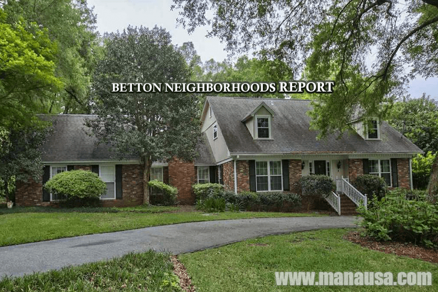 Betton Neighborhoods Tallahassee Real Estate Report For May 2016