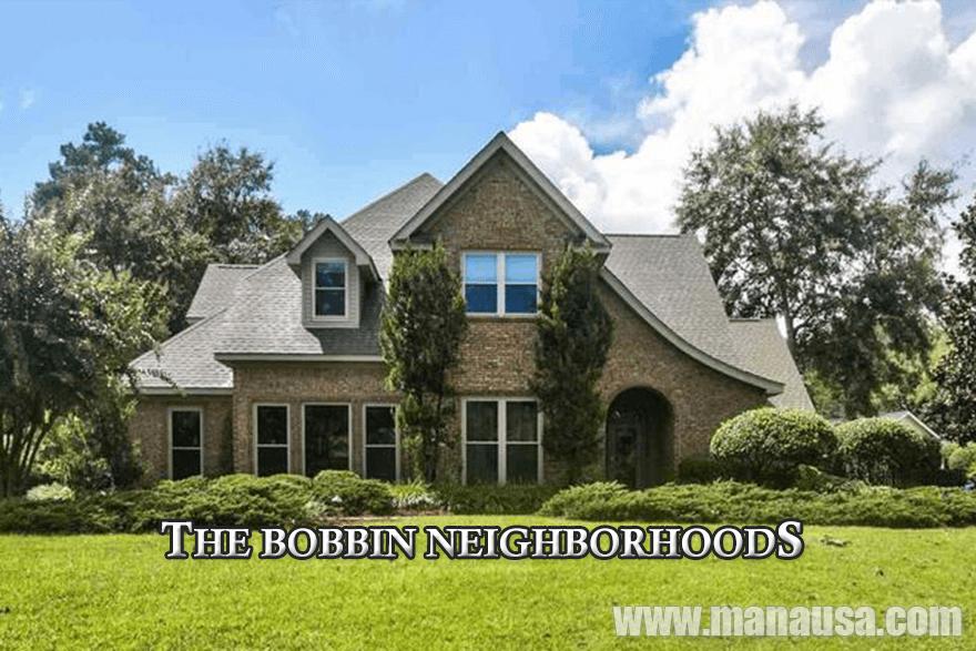 Bobbin Trace, Bobbin Mill Woods, and Bobbin Brook in Tallahassee, Florida