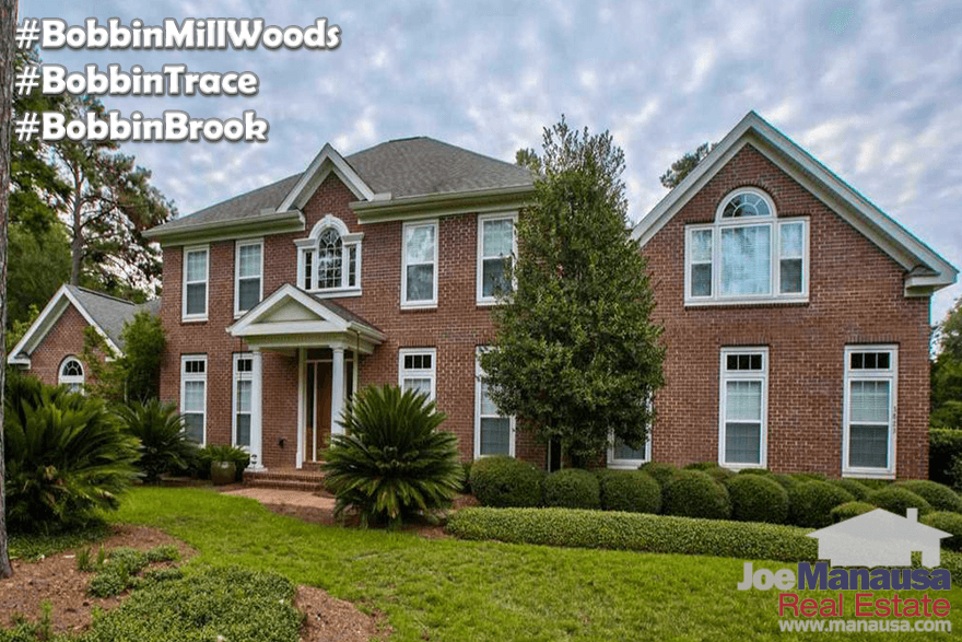Homes For Sale In Bobbin Mill Woods, Bobbin Trace, and Bobbin Brook