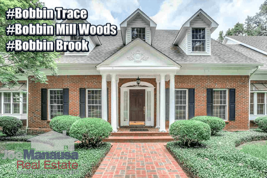 Bobbin Trace, Bobbin Mill Woods, and Bobbin Brook Listings and Home Sales Report