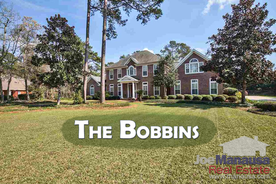 Homes For Sale In Bobbin Trace, Bobbin Mill Woods, and Bobbin Brookin Tallahassee, Florida