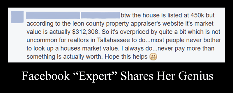 Facebook Real Estate Expert exposed as an unlicensed massage therapist