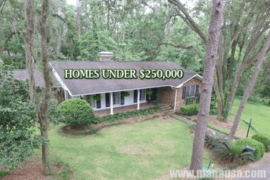 Search all Tallahassee Homes Priced UNDER $250,000