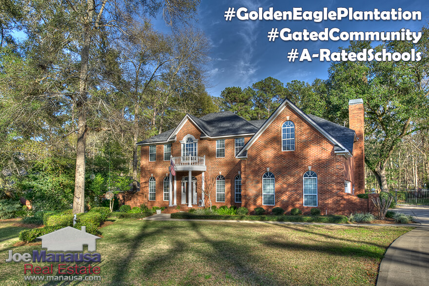Houses For Sale In Golden Eagle Plantation Tallahassee, Florida