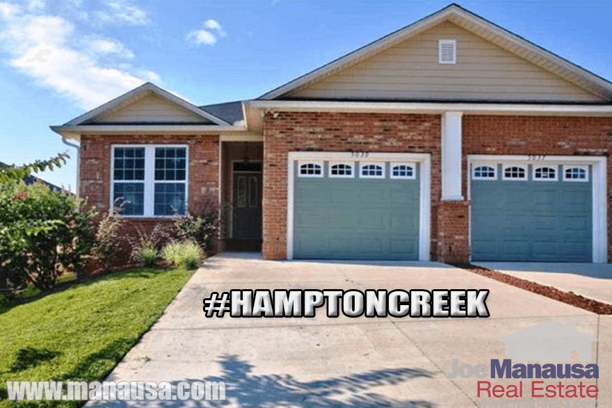 Hampton Creek Listings & Home Sales Report September 2016