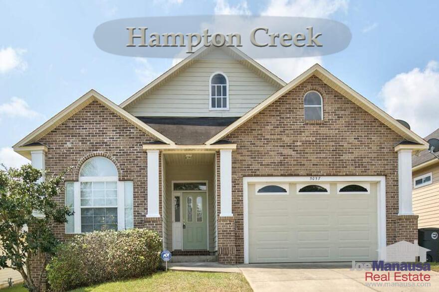 Hampton Creek Tallahassee Home Values