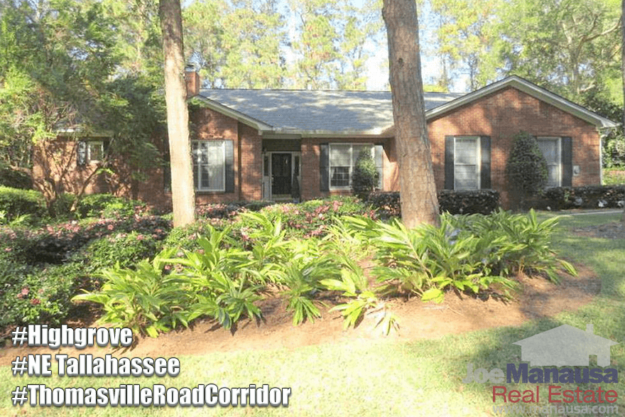 Homes For Sale In Highgrove Tallahassee, Florida