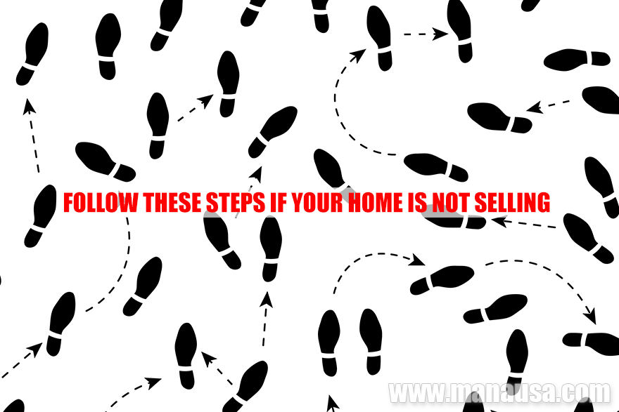 Follow these steps if your home has not sold within the first 30 days of being on the market