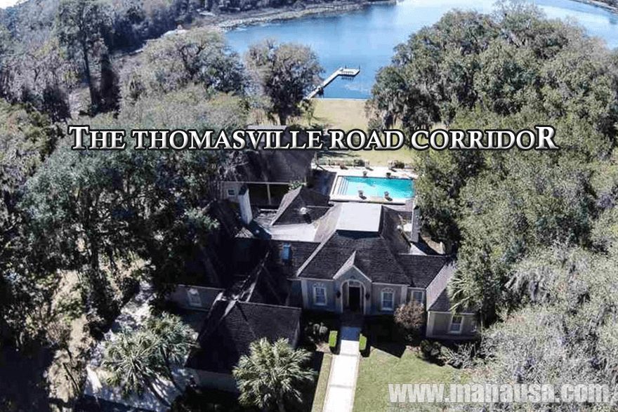 Homes for sale along Thomasville Road / Hwy 319 In NE Tallahassee, Florida