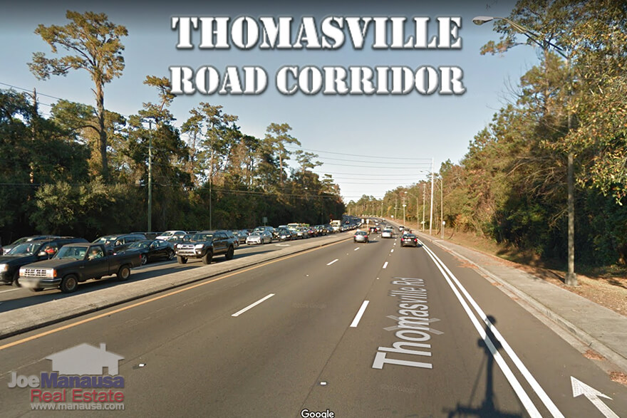 Homes For Sale Along The Thomasville Road Corridor In NE Tallahassee