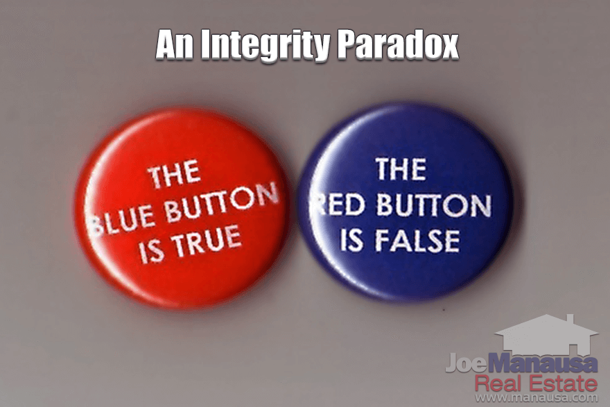Why Home Sellers Must Understand The Integrity Paradox In Real Estate