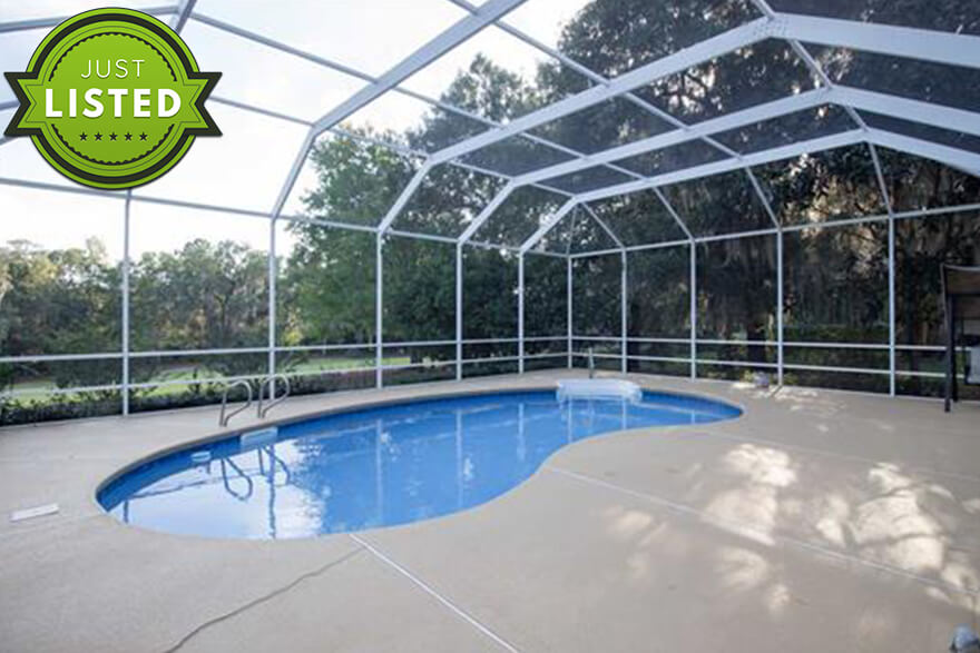Just Listed Homes With Pools For Sale