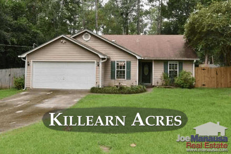 Home Prices In Tallahassee's Killearn Acres