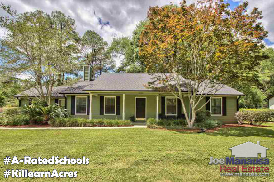 Houses For Sale In Killearn Acres In Tallahassee, Florida