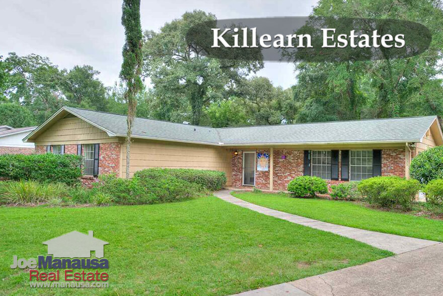 Home Price Trends In Killearn Estates Tallahassee, FL