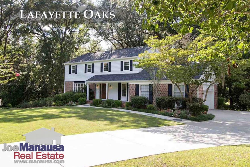Lafayette Oaks Tallahassee Average Home Prices