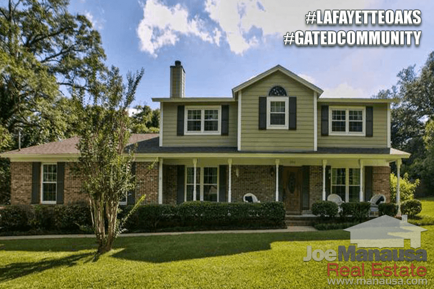 Homes For Sale In Lafayette Oaks In Tallahassee, Florida