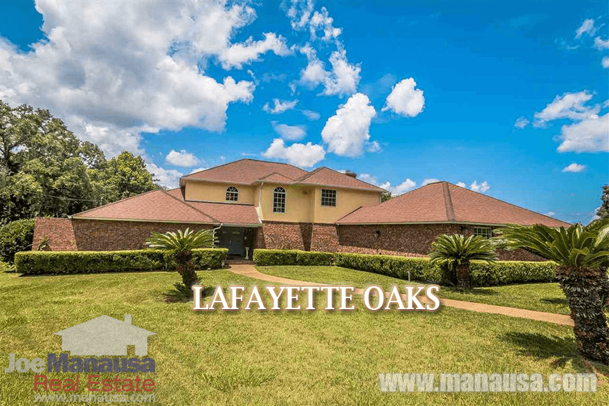 Lafayette Oaks Listings & Home Sales Report For August 2016