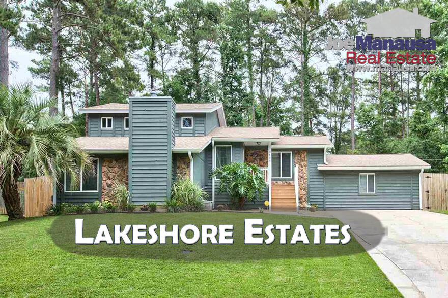 Homes For Sale In Lakeshore Estates Tallahassee, Florida