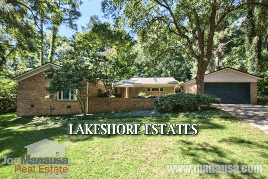 homes for sale in Lakeshore Estates