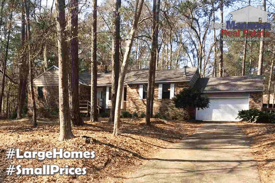 Larger Homes For Sale In Northwest Tallahassee That Offer More BANG For The BUCK