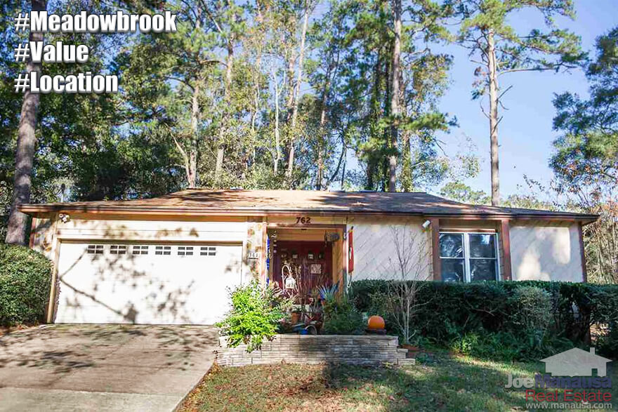 Meadowbrook Tallahassee Florida Listings and Housing Report December 2016