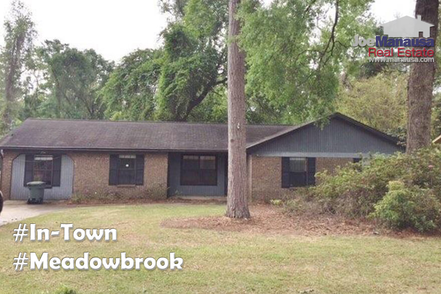Meadowbrook Tallahassee Home Prices