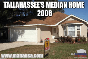 Median Home Tallahassee Florida 2006