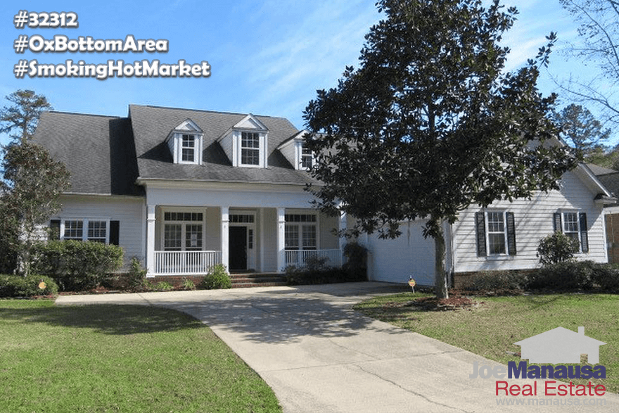 Homes For Sale In The Ox Bottom Area Of NE Tallahassee