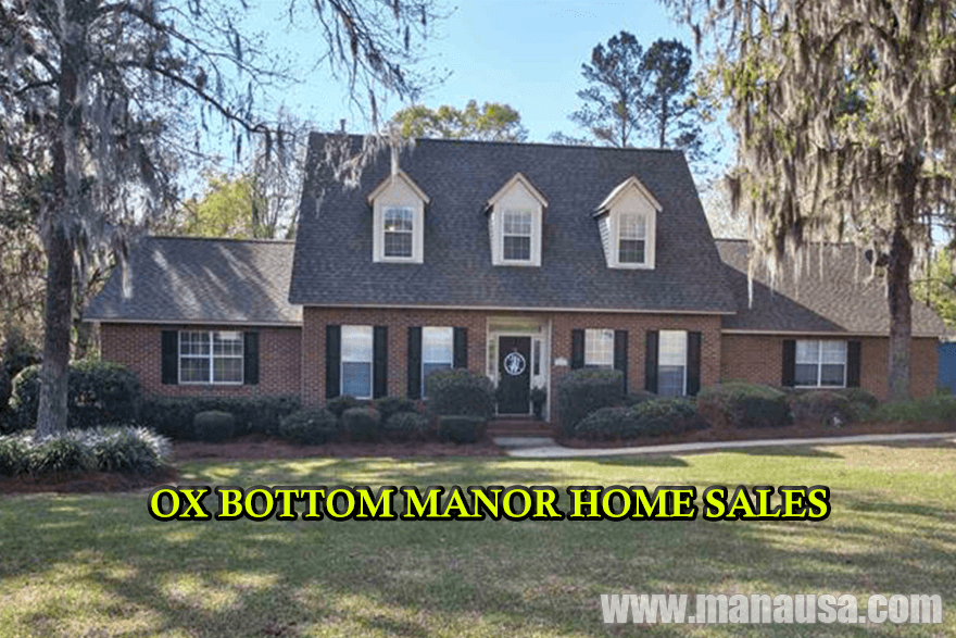 Ox Bottom Manor Home Sales Report May 2016